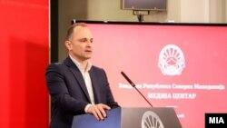 Архивска фотографија- министерот за здравство Венко Филипче