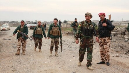 نیروهای مسلح کرد در شمال عراق