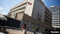 Ambasada amerikane në Tel Aviv të Izraelit