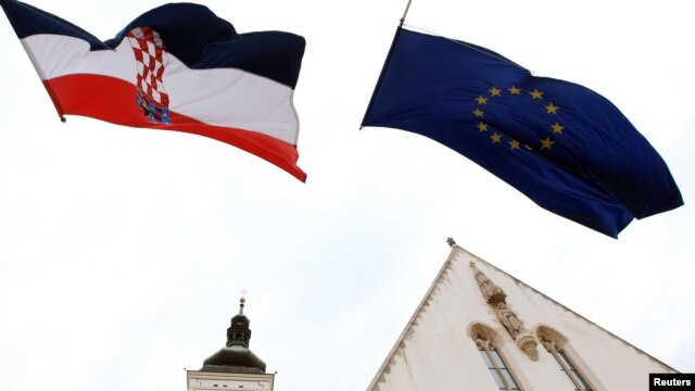 Zgrade Hrvatske i EU