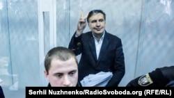 Міхеїл Саакашвілі в суді у Києві