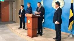 Глава Бурятии Алексей Цыденов в Корее