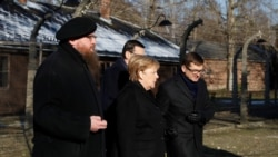 Angela Merkel u poseti logoru Aušvic-Birkenau