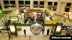 On the case? The Iran Cyberpolice booth at an international digital media fair in Tehran in 2012