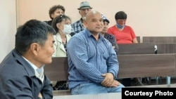 Камиль Рузиев в суде. 31 мая 2020 года.