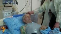 Ադրբեջանական գերությունից ազատ արձակված ծերունին բազմաթիվ վնասվածքներ ունի