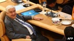 Сирискиот министер за надворешни работи Валид Муалем
