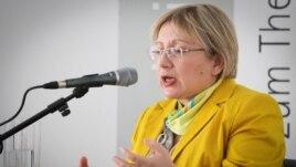 Azerbaijani human rights activist Leyla Yunus  (file photo)
