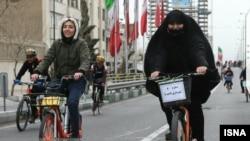 همایش بزرگ دوچرخهسواری در تهران در ۱۰ اسفند ۹۷