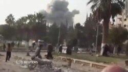 Новые жертвы авиаударов в Сирии