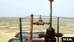 Нефтяная скважина после ликвидации утечки. Иллюстративное фото.