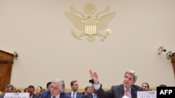 Secretarul de stat american John Kerry la audierea în comisia de politică externă a Camerei Reprezentanților despre acordul nuclear cu Iranul