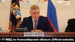 Начальник главка МВД по Новосибирской области Юрий Стерликов