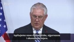 Tillerson: Nemamo više strpljenja za Sjevernu Koreju