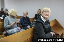 Ганна Бахціна ў судзе