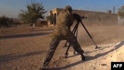 Suriyada İŞİD döyüşçüsü