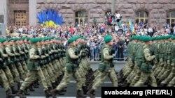 این نمایش بزرگترین رسم گذشت نظامی اوکراین بعد از استقلال این کشور در سال ۱۹۹۱ پنداشته میشود.