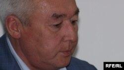 Сейтказы Матаев, председатель правления Союза журналистов Казахстана и руководитель Национального пресс-клуба.