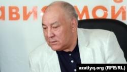 Қазақстанның коммунистік партиясының жетекшісі Ғазиз Алдамжаров. Алматы, 3 мамыр 2012 жыл.