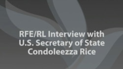 Rice Interview With RFE/RL