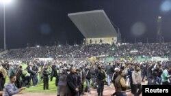 Бійка на стадіоні у єгипетському місті Порт-Саїд, 1 лютого 2012 року