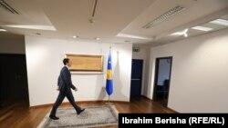 Kryeministri në detyrë i Kosovës, njëherësh lideri i Vetëvendosjes, Albin Kurti.