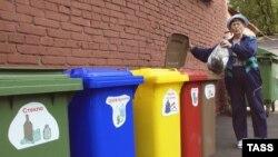 Первые эксперименты по раздельному сбору мусора были удачными