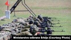 Ekipi i snajperistëve të Ushtrisë së Serbisë