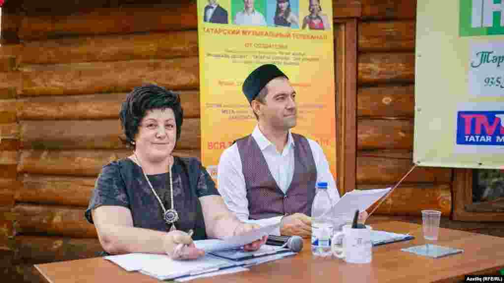 Концертны алып баручылар - Фәнис Җиһанша һәм Ризәлә Исмәгыйлова