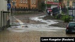 Наводнение в Хагене.