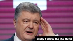 Украинанын президенти Петро Порошенко. 21-апрель, 2019-жыл.