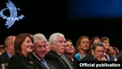 Presidentja e Kosovës, Atifete Jahjaga në ndarjen e çmimeve të Nismës Globale Clinton.