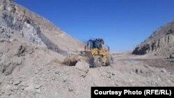 جریان کار ساخت یک بند در کابل