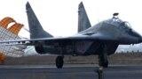 Un avion de luptă MiG-29