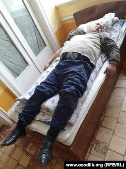 59-летний Олим Мустафаев в районной больнице.