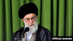 Iran Supreme Leader Ayatollah Ali Khamenei in a handout photo