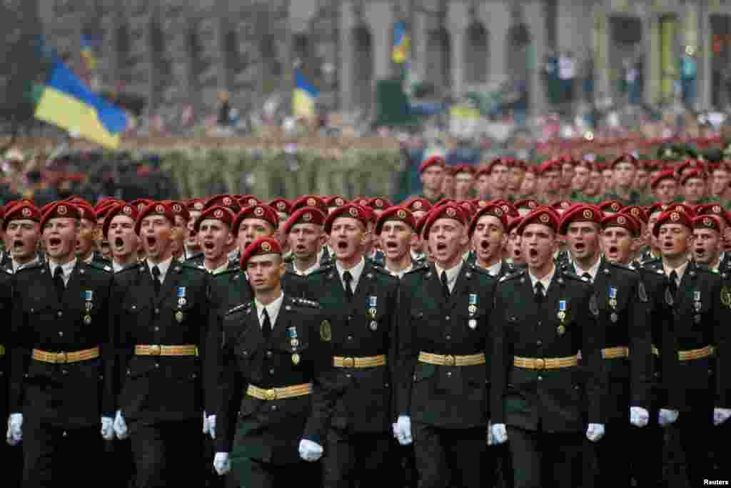 «Слава Україні! Героям слава!»