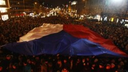 Чехия скорбит по Вацлаву Гавелу