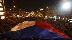 Чехія порощається з Вацлавом Гавелом. Прага. 18 грудня 2011 року