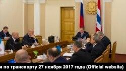 Совещание по транспорту 27 ноября в Омске