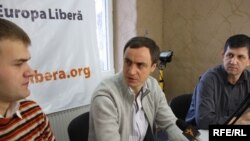 Sergiu Gălușcă, Alexandru Luchianov, Gheorghe Arpentin