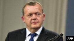 Данияның оппозициялық Дания халықтық партиясы жетекшісі Ларс Расмуссен.