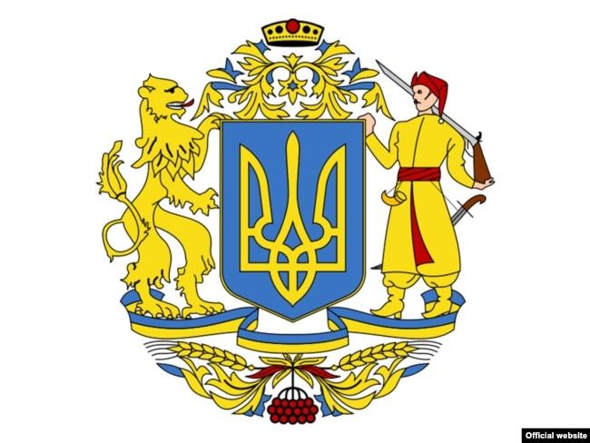 Эскиз-победитель на предыдущих конкурсах на Большой Герб Украины