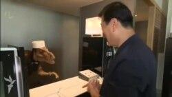 Yaponiyada hotel işçilərini robotlarla əvəz ediblər