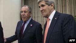 Sergei Lavrov və John Kerry - 8 noyabr 2014