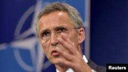 NATO Secretary-General Jens Stoltenberg (file photo)