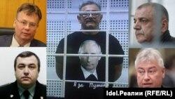 Слева направо: Герман Дьяконов, Надыр Хайруллин, Анатолий Ливада, Сергей Плющий, Роберт Мусин