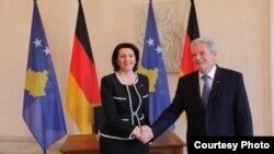 Jahjaga dhe Gauck