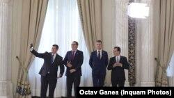 Eugen Tomac, alături de Victor Ponta, Dan Barna și Ludovic Orban