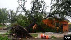 "Последствия шторма ""Исаак"" в Новом Орлеане, 29 августа 2012 года."